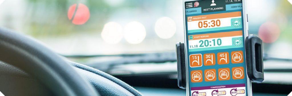 Načítanie tachografov, aplikácia čítačky kariet vodičov
